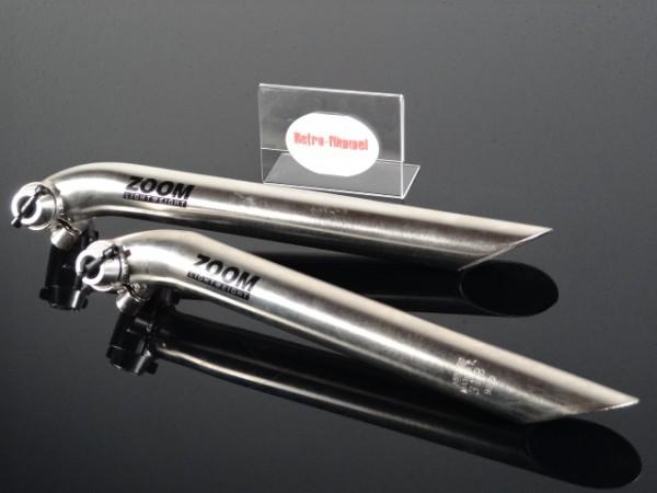 """Zoom Lightweight Sattelstütze """"Silber"""" 31,8mm NOS"""