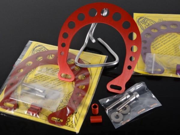 """Gorilla Brake Beefer Cantilever Brake Booster Set """"Rot"""""""