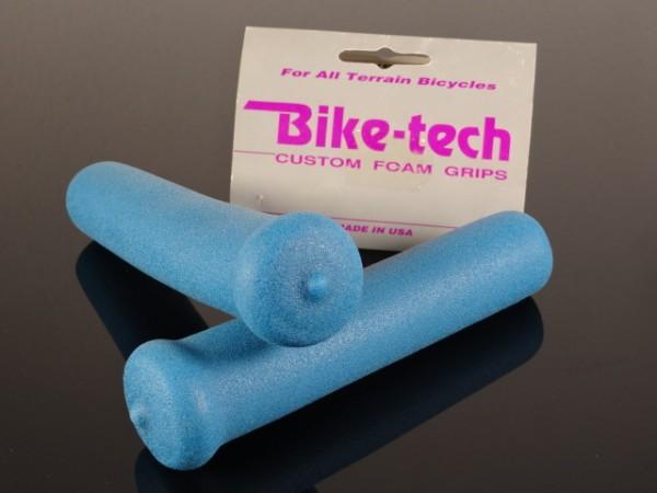 "Bike Tech MTB Griffe ""Blau"" NOS"