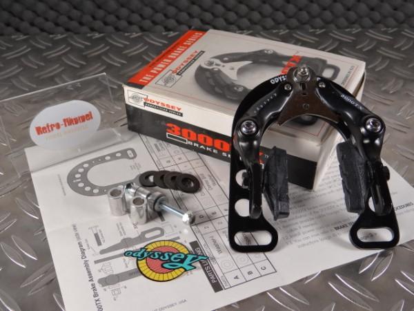 "Odyssey TX3000 Rollercam MTB U-Brake ""Schwarz"" NOS"
