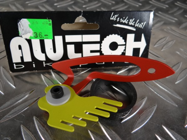 "Alutech Crud Claw CNC ""Rot"" NOS OVP"