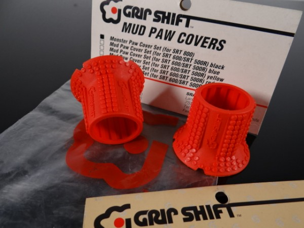 Grip Shift Mud Paws Griff-Cover SRT 800 (Rot) NOS