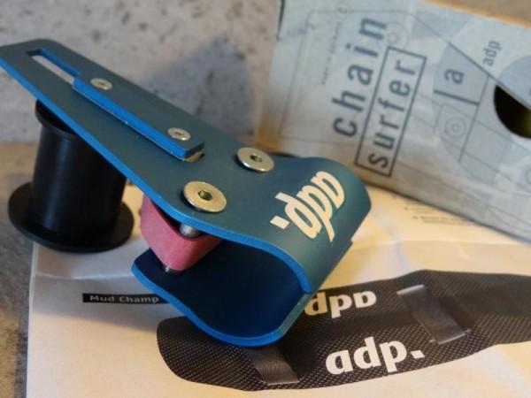 """ADP Kettenführung Chain Surfer """"Türkis"""" neu"""