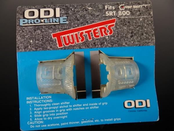 "ODI Twisters Griff-Cover Grip Shift SRT 800 ""Transparent"""