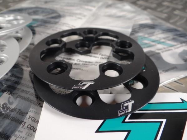 "Speed Tec Kettenfangring Anti-Chainsuck T20 LK56 ""Schwarz"""