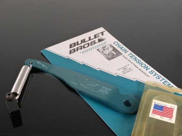 """Bullet Bros Schaltwerk Spanner """"Blaugrün"""" NOS"""