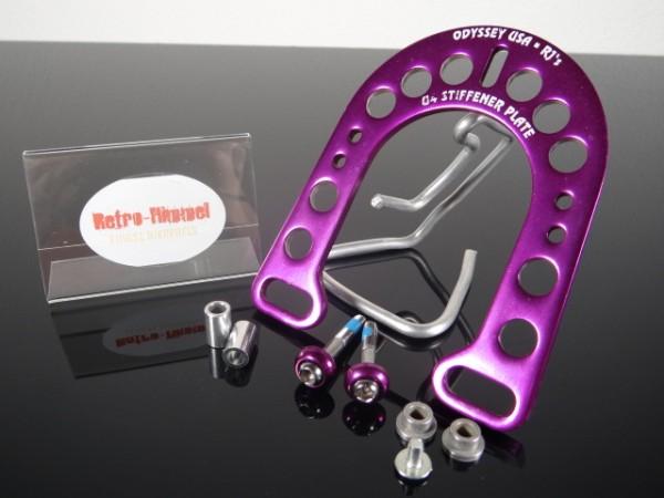 "Odyssey U4 Stiffener-Plate Brake Booster ""Purple"""