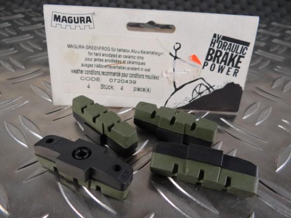 Magura HS33 Green Frog Bremsbeläge NOS