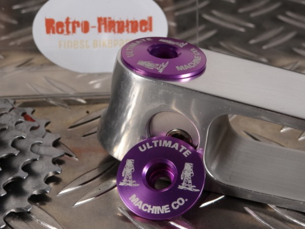 "Ultimate Machine Ahead-Kappe ""Purple"" 1 1/8 NOS"