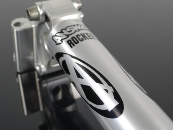 """Answer Rocker Sattelstütze """"Silber"""" CNC 27,2mm"""