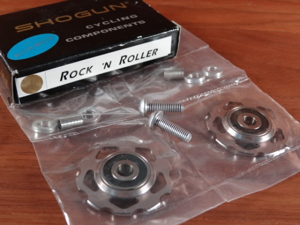 "Shogun Rock n' Rollers Pulleys""Silber"""