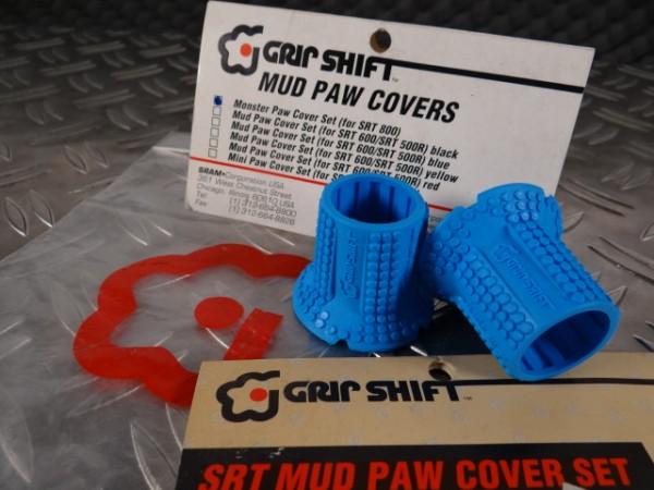 Grip Shift Mud Paws Griff-Cover SRT 800 (SID-Blau) NOS
