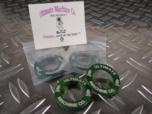 """Ultimate Machine Lockring Kassettenabschlussring """"Grün"""""""