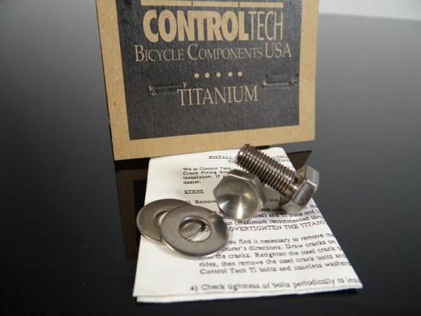 ControlTech Kurbelschrauben Titanium