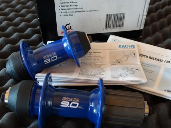 "SRAM 9.0 SL Nabensatz ""Blau"""
