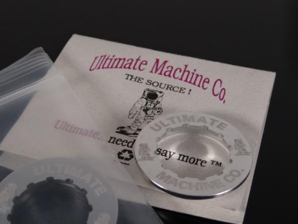 "Ultimate Machine Lockring Kassettenabschlussring ""Silber"""