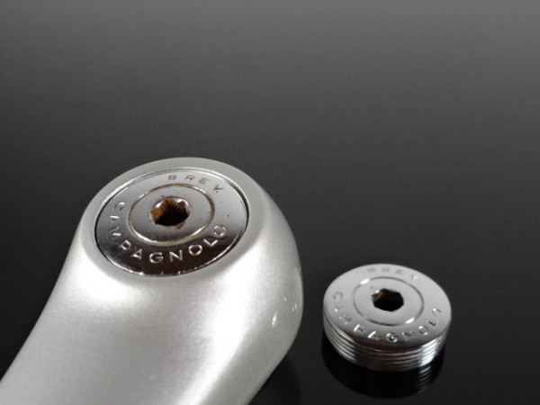 "Campagnolo Dustcaps/Crank-Caps ""Silber"""