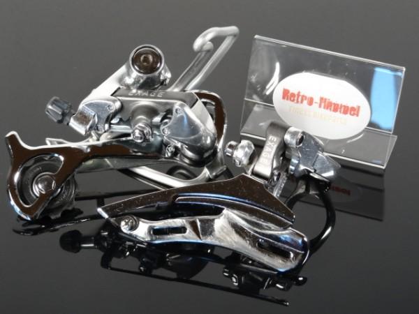 Shimano Umwerfer Schaltwerk Exage RD-M320 FD-M321