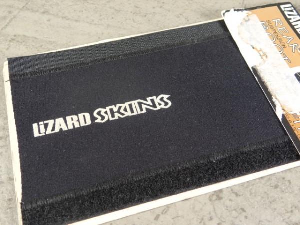 """Lizard Skins Boot Federbeinschutz """"Schwarz"""" NOS"""