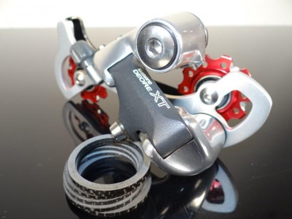 "Shimano XT Schaltwerk RD-M739 TEC Products ""Rot"""