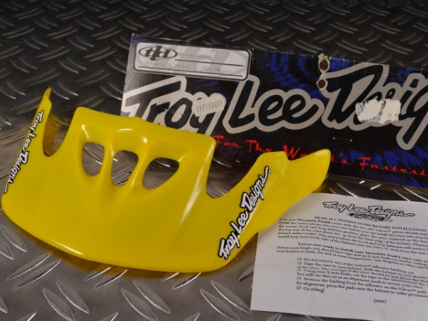 "Helm Visier Troy Lee Design Mountain PeaK2 ""Gelb"""