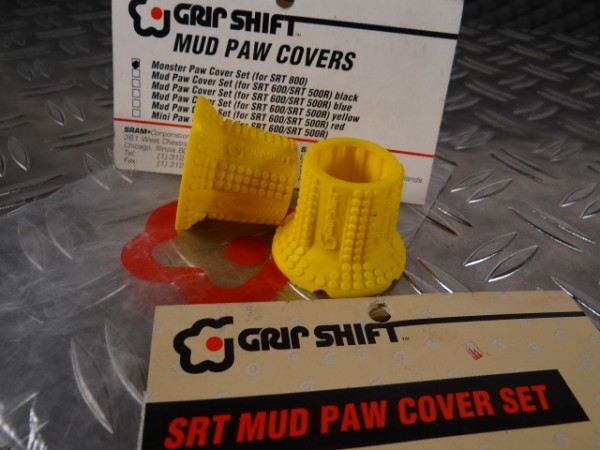 Grip Shift Mud Paws Griff-Cover SRT 800 (Gelb) NOS