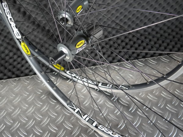Mavic Crosslink Laufradsatz