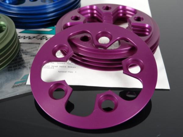 "Speed Tec Anti-Chainsuck 24T LK58 ""Purple"" NOS"