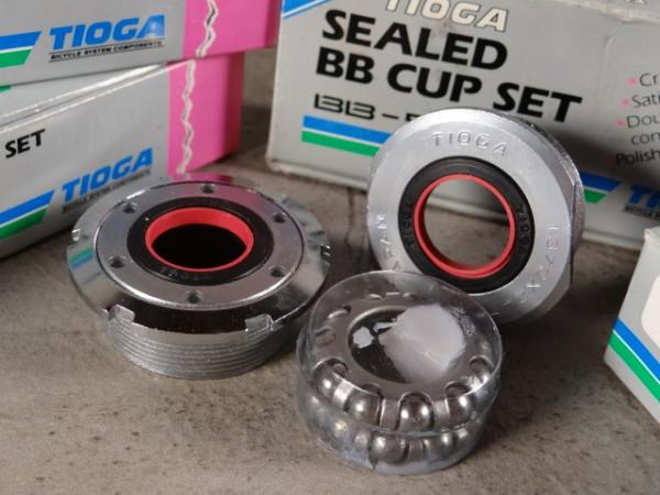 Tioga Innenlager Lagerschalen Sealed BB-Cup Set BB-501 NOS