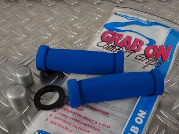 "Grap On Softgrips MTB-Griffe ""Blau"" NOS USA"