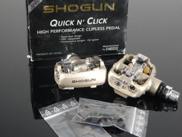 Shogun Quick n' Click Pro Series Pedale NOS