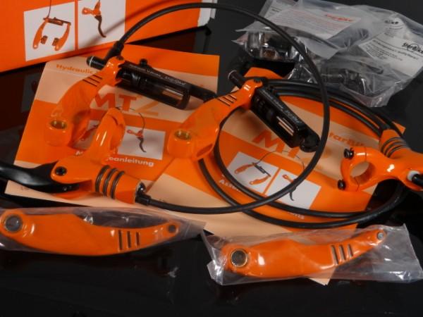 """Starbike MT2 Hydraulik V-Brake """"Orange"""" NOS"""
