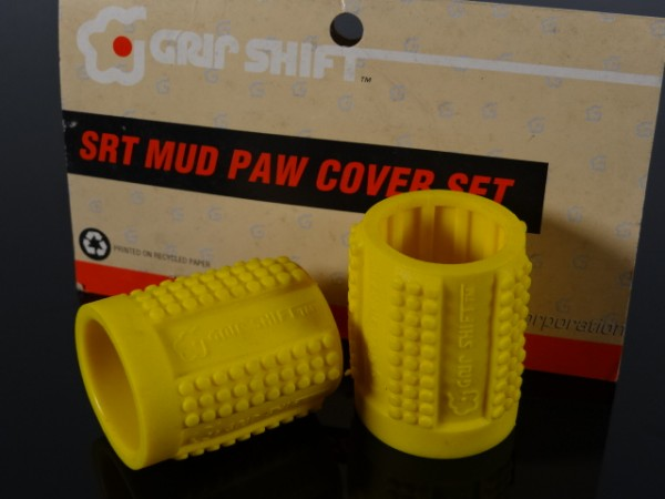 Grip Shift Mud Paws Griff-Cover SRT 600 & 500R (Gelb) NOS