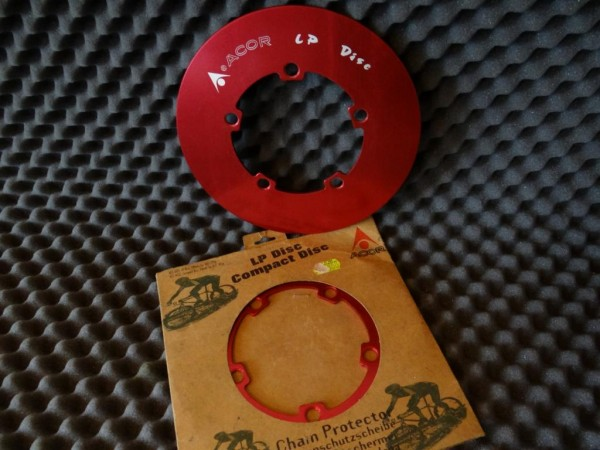 "Acor LP Disc (ACC-601) Chain Protektor ""Rot"""