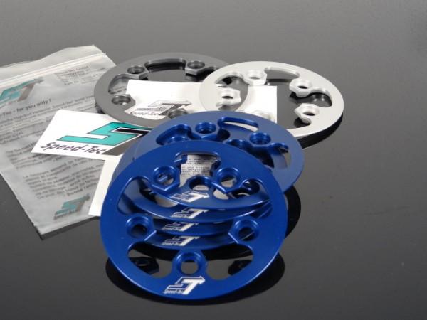 "Speed Tec Kettenfangring Anti-Chainsuck T20 LK58 ""Blau"""