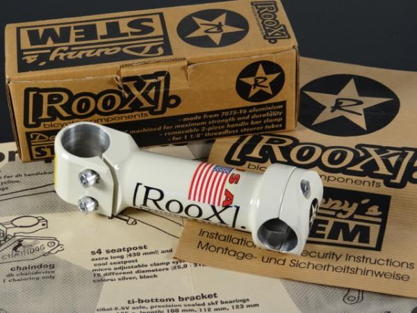 "Roox Danny's Stem (XC-Stem) ""Weiß/Cream"" 1 1/8 NOS"