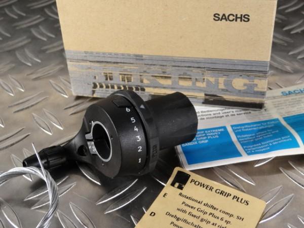 Schaltgriff 6-fach Sachs Power Plus NOS