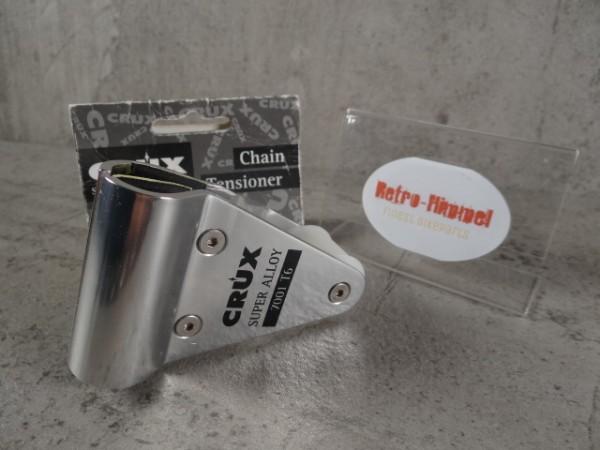 """Crux Chain Tensioner Kettenführung """"Silber"""" NOS"""